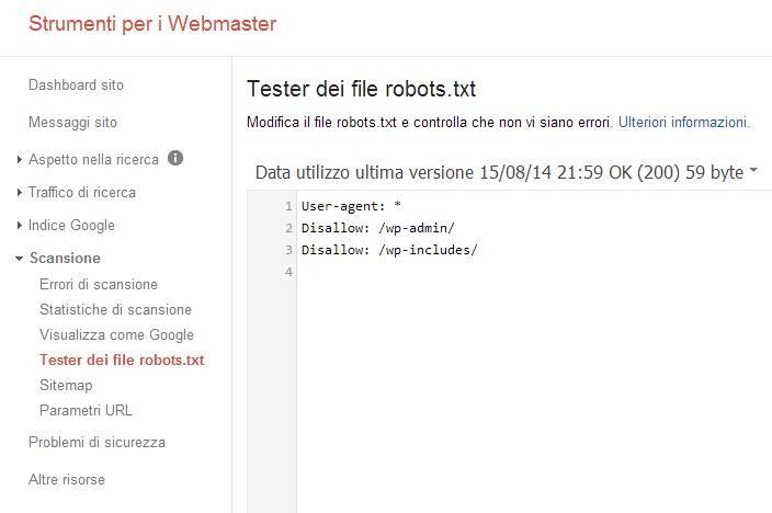 ottimizzazione seo url - robots